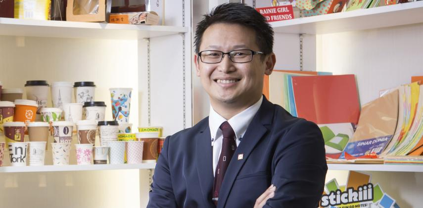 Asia Pulp and Paper VP Tim Ooi says karma and conservation are the